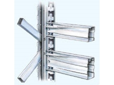 Unirack upright shelving can now be further reinforced with newly available frame bracing