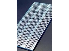 H25 perforated shelf panels