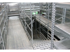 Super 123 shelving can be adapted to comply with fire safety requirements as needed