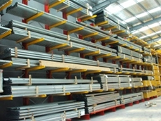 Unicant self supporting cantilever racking systems