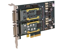 Acromag's APCe7020 PCI Express carrier card for AcroPack modules