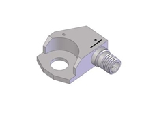 Bracket style model 3091A piezoelectric accelerometer available from Metromatics