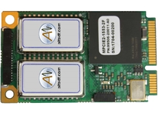 Dual channel mini PCI Express MIL-STD-1553 interface card