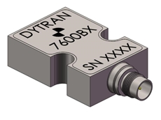 Dytran 7600B series capacitive accelerometers