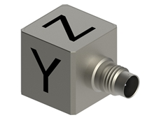 Dytran's 3543A high temperature IEPE triaxial accelerometer