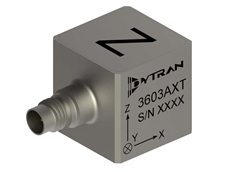 Dytran 3603AXT series triaxial IEPE accelerometer