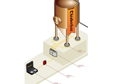 Futek pancake load cells in an Oktoberfest fermentation tank measurement application