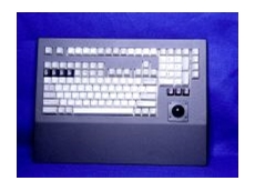 Cortron model 121 industrial keyboard and pointing device.