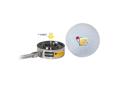 LTH350 Miniature Donut Load Cell with USB Output from Futek Advanced Sensor Technology Inc.