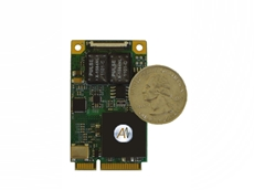 MIL-STD-1553 Mini PCI Express interface card from Metromatics