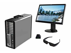 NextComputing's compact workstation computers available from Metromatics offer immersive 3D experience