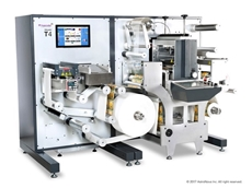 Trojan T4 all-in-one digital label finishing press