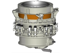 Metso supplies the world's largest cone crushers