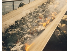 Trellex heat resistant conveyor belts can be used to transport clinker, coke, foundry sand, and slag