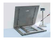 A floor scale designed for fast, accurate and repeatable weighing results