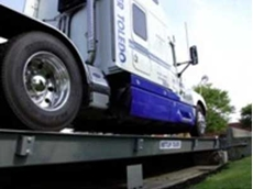 Portable weighbridges that can be dismantled and transported