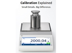 The white paper 'Calibration: What Is It?' answers this important question to help improve weighing accuracy