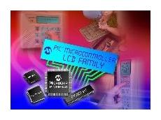 64-pin LCD microcontroller