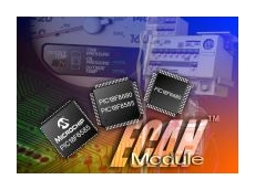 Flash microcontrollers with scalable CAN module