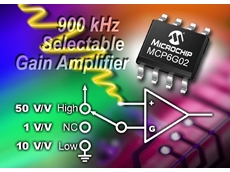Microchip Technology expands programmable amplifiers' portfolio