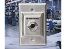 TURCK wall plate adapter.