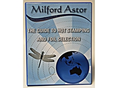 Hot stamping foil selection catalogue