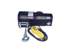 Electric brake hand winch