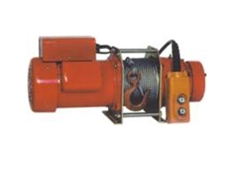 CP electric winches are part of the range available from Millsom Materials Handling