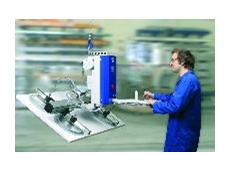 Basic model, 125kg capacity with 90° turning for handling of plastic sheets.