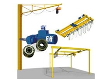 Cost Effective Jib and Slewing Cranes from Millsom Materials Handling
