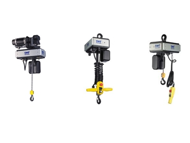 Range of SWF Krantechnik Electric Chain Hoists
