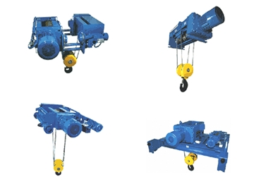 Range of Electric Wire Rope Hoists