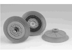 Flat suction pads