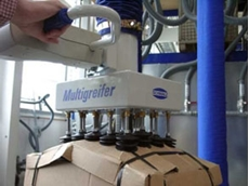 Jumbo vacuum lifter with multi-gripper