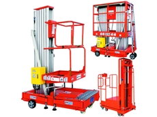 Low voltage battery aerial work platforms