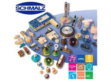 Schmalz vacuum components for automation and handling requirements