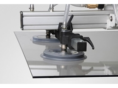 SGF suction plates for handling glass