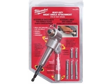 Allows the user to reach into tight spots to drive screws, drill holes and tighten bolts.