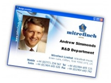 Mitrefinch photo ID cards