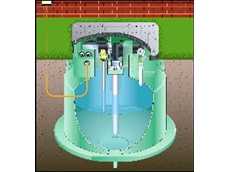 Cutaway of the Mono pressure sewer system.