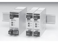 ECT-DIN signal isolators have a solid metal enclosure