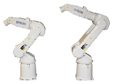 EPSON S5-Series 6-Axis Robot Lineup