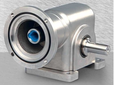 IP69K rated right angle gearhead