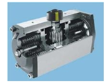 The aluminium rack and pinion actuator