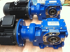 Cast iron Helical bevel gear motors and gear reducers