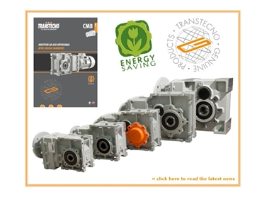 Worm gearboxes and helical/bevel helical gearboxes designed for manufacturing and industrial applications.