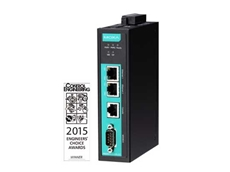 Moxa MGate industrial Ethernet gateway wins Engineers' Choice Award
