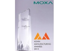 Moxa Inc. was named 'Best industrial network provider' at the Asian Manufacturing Awards 2013