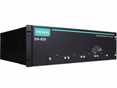 Moxa's DA-820 rackmount computer