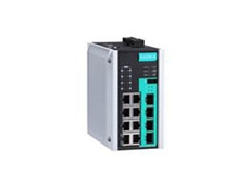 Moxa's new EDS-G512E-8PoE switch